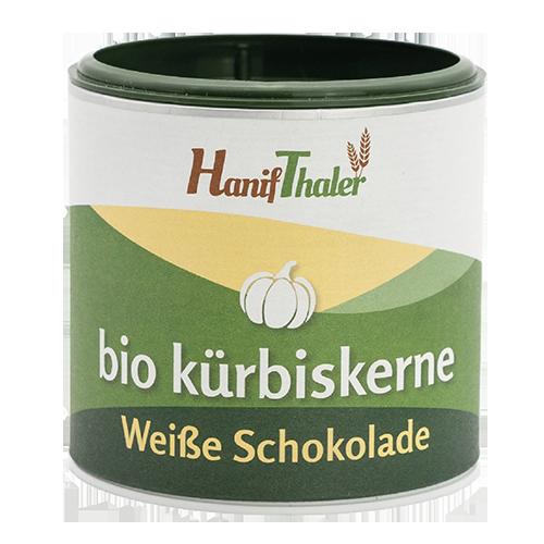 Hanifthaler Kuerbiskerne Weisse Schokolade Web